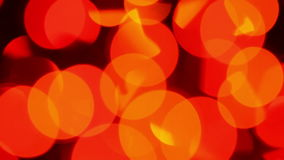 Defocused colorful lights background. Defocused lights with bokeh, blurred motion abstract background stock footage