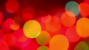 Defocused colorful lights Royalty Free Stock Photos