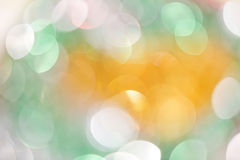 Defocused colorful lights Royalty Free Stock Images