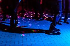 Defocused dance floor Royalty Free Stock Images