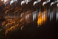 Defocused en vaag abstract beeld van kleurrijke achtergrond Stock Afbeelding