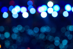 Defocused entertainment concert lighting on stage, bokeh. Defocused entertainment concert lighting on stage, bokeh Stock Image