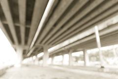 Defocused of Express way Stock Images
