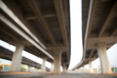 Defocused of Express way Royalty Free Stock Photo