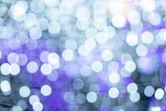Defocused Festive Lights Bokeh. Christmas lights, Abstract background of festive light bokeh stock images