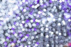 Defocused Festive Lights Bokeh. Christmas lights, Abstract background of festive light bokeh royalty free stock photography