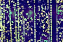 Defocused festliche Lichter Lizenzfreie Stockbilder