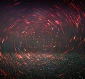 Defocused foto för lila- och rosa färgljusbakgrund royaltyfria foton