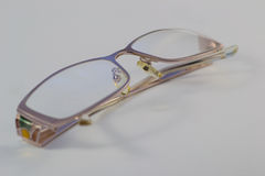 Defocused glasses Stock Image