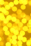 Defocused glowing lights Royalty Free Stock Photo