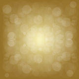 Defocused gold abstract background Royalty Free Stock Photos