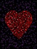 Defocused heart Royalty Free Stock Photos