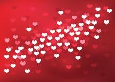 Defocused heart. Stock Photo