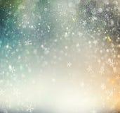 Defocused Hintergrund der Weihnachtsfeiertags-Zusammenfassung Stockfoto