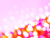 Defocused holiday lights Royalty Free Stock Photos