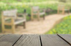 Defocused i plama wizerunek Jawny park w sezonie jesiennym dla backg Fotografia Royalty Free