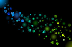 Defocused illumination background Royalty Free Stock Image