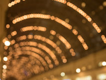 Defocused interior of a large luxury shopping Stock Image