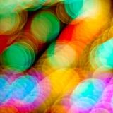 Defocused kolorowy światła tło obrazy stock
