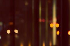 Defocused konstnärlig stil -, suddig stads- abstrakt bakgrund, lång arbetstid begrepp Royaltyfria Foton