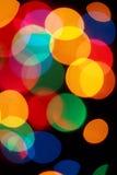 defocused lampor Arkivfoto