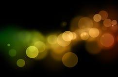 defocused lampor för abstrakt bakgrund Royaltyfri Bild