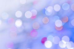 Defocused Leuchten Stockbild