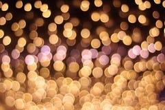 Defocused Licht stockbilder