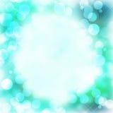 Defocused Lichter mit Kopien-Raum lizenzfreie stockfotos