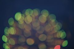Defocused light Royalty Free Stock Image