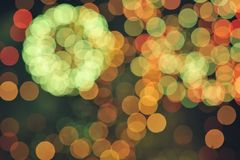 Defocused light Royalty Free Stock Photos