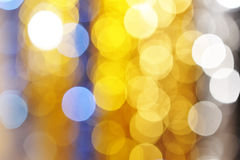Defocused light Royalty Free Stock Photography