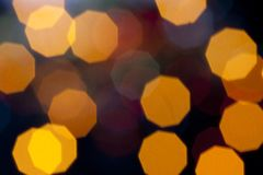 Defocused light Royalty Free Stock Photo
