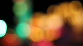 Defocused light, abstract background stock footage