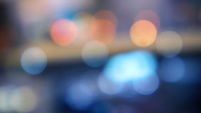 Defocused Light - Bokeh Circles Royalty Free Stock Photography