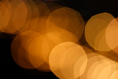 Defocused light dots bokeh background Stock Photos