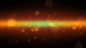 Defocused light particles stock video
