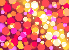 Defocused light vector Royalty Free Stock Images