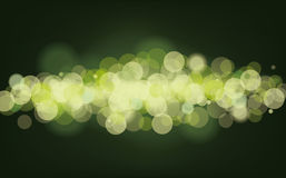 Defocused light wave Stock Image