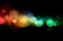 defocused lights Στοκ Φωτογραφίες