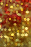 Defocused lights Royalty Free Stock Photography