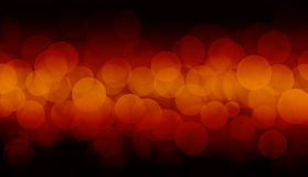 Defocused lights Stock Images
