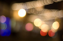 Defocused Lights. Beautiful defocused lgihts with a subtle vignette, perfect for any design, enjoy Stock Photography
