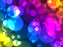 Defocused lights. Elegant abstract background with defocused lights Royalty Free Stock Image
