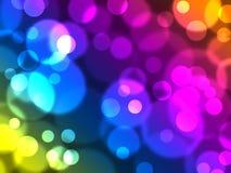 Defocused lights. Elegant abstract background with defocused lights vector illustration