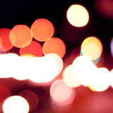 Defocused lights background Royalty Free Stock Photo