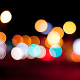 Defocused lights background Royalty Free Stock Photos