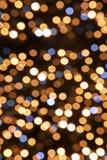 Defocused Lights Background Stock Photography