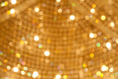 Defocused Lights Background of christmas eve Royalty Free Stock Image