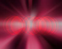 Defocused lights background with copy space Stock Image